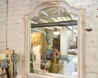 Painted Cottage Chic Shabby French Mirror LCMR