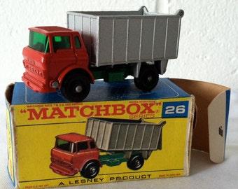 Vintage Matchbox GMC Tipper Truck #26