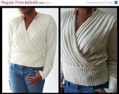SALE ON SALE 80s Angora Sweater Size Large