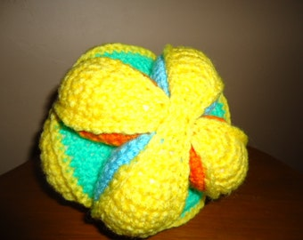 Soft toy puzzle ball
