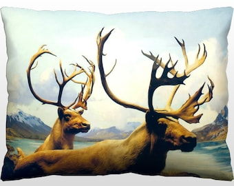 Decorative Nature Pillow - Wild Elk
