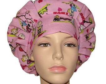 Scrub Hats - Valentines Day Peanuts Gang Be Sweet