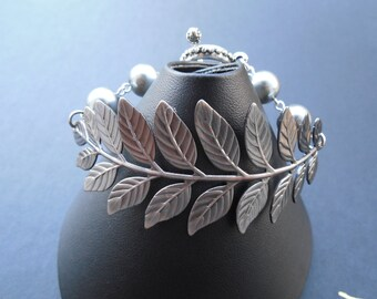 a touch of life bracelet - antique silver brass