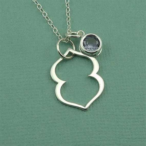 large third eye necklace sterling silver by thezenmuse
