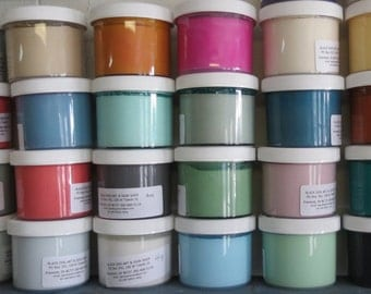 Sample Pack 5 4oz jars Premium McClains Chalk Blended Paint  40 colors Furniture Paint, Shabby Chic, Vintage Finish, Smooth Paint,