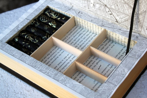 Vintage Book Jewelry Box