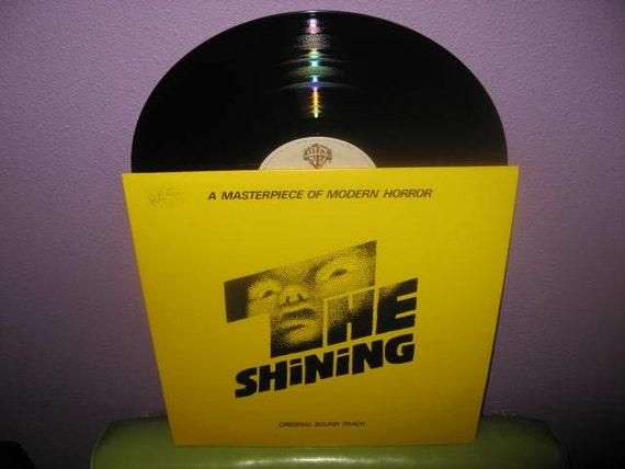 Rare Vinyl Record The Shining Original Soundtrack LP 1980 Stephen King Kubrik Horror Classic