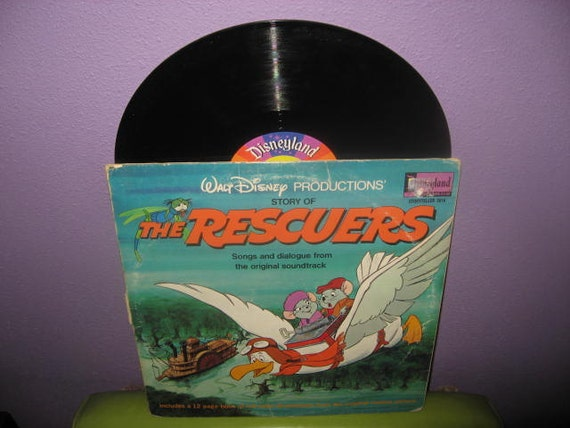 Vinyl Record Disney S The Rescuers Original Soundtrack