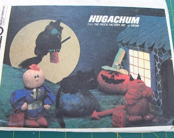 McCalls 8115 Hugachum Halloween Characters Sewing Pattern