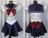 Sailor Saturn Scout Costume Cosplay Adult Women's Size Custom Fit 4 6 8 10 12 14 Sailor Moon
