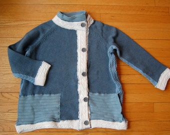 Womens Cotton Cardigan Resort Wear, Vacation, WAS 298 NOW 104