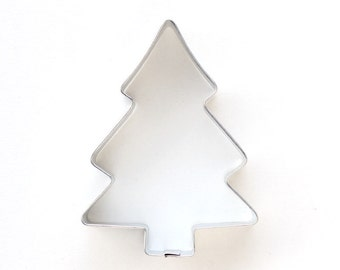 Pine Tree Cookie Cutter - Classic Christmas Tree