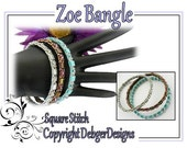 Zoe Tila Bangle -  Beading Pattern Tutorial