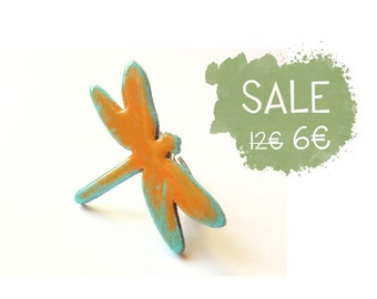 Wooden Dragonfly Ring - TEEN DRAGONFLY
