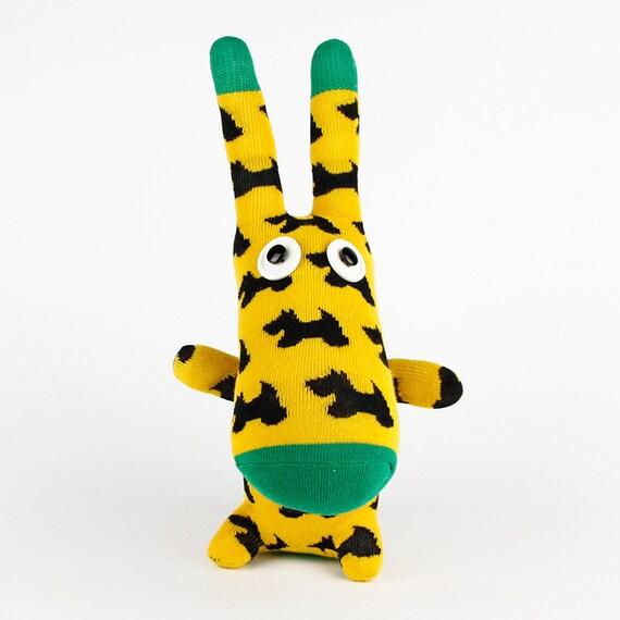 Clearance Handmade Sock Donkey Stuffed Animal Doll Baby Toys