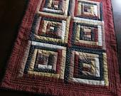 Stars and Stripes Table Runner 6 Blocks