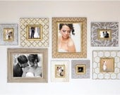 8-Piece Metallic Gallery Wall Collection
