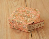 SALUT Coffret du Couturier floral message PAPER tape