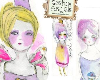Custom Angels / Custom Faeries by Carissa Paige