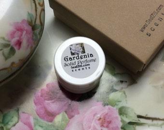 Gardenia Solid Perfume