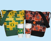 Oregon Fan Game Day Tote and Cozy