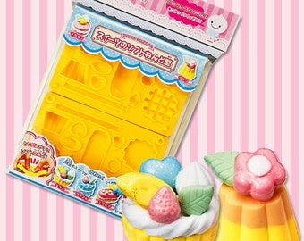 Deco Food Mould / Mold. One mould / mold for mini waffles, pudding, tart, macarons and eclairs