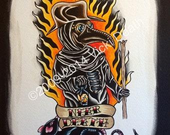 The Plague Doctor Original Art