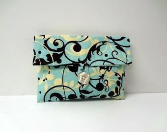 READY TO SHIP - Vinework Print Cosmetic Bag