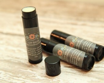 Lip Balm, natural chapstick, beeswax lip balm, organic ingredients, moisturizer, natural make up, lip butter, gifts for her
