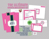 Ultimate Sorority Recruitment Recommendation Kit - Package of 25 - Sorority Rush Package