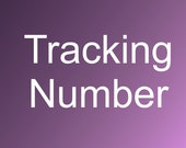 Tracking number/Priority shipping