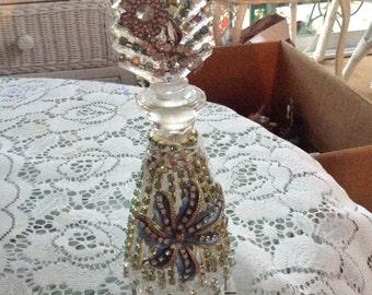 Jeweled  perfume bottle