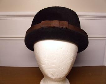 Vintage  1960's Hattie Carnegie Wool Hat