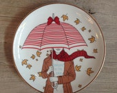 Singing in the rain plate