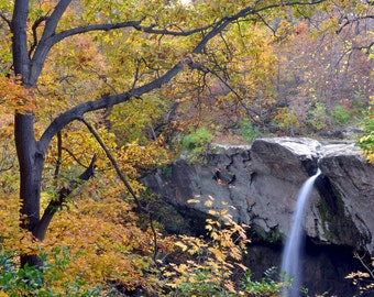 Fine Art Photo of Williamsport Falls, Warren County, Indiana (IDAI125)