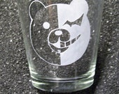 Dangan Ronpa Monobear Monokuma XL shot glass