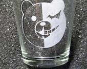 Dangan Ronpa Monobear Monokuma XL shot glass