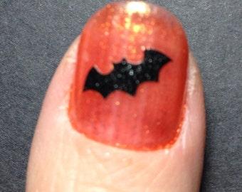 Toe nail / finger nail Bat Halloween decals / stickers / pedicure