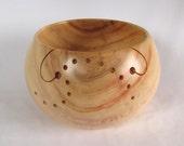 Wood Yarn Bowl - Manitoba Maple - Reserved Item