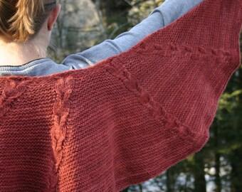 Red Head Wrap Pattern - Pattern Only - Digital Download