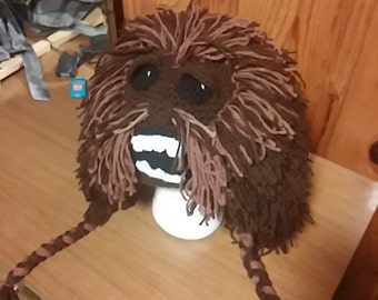 Crochet Chewbacca Hat