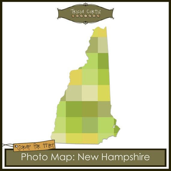 Photo map template new hampshire from triciacurtis on