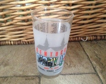 Vintage Kentucky Derby Official  Collectable Glass 1991 Churchill Downs
