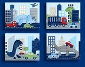 Dinosaur art, dinosaur wall art decor, children art, dinosaur art prints, boys dinosaur decor