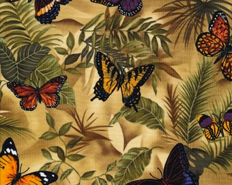 Butterfly Rain - Timeless Treasures - 1 yard - More Available - BTY