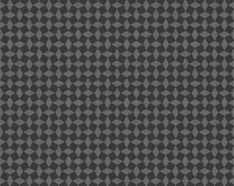 Poulets de Provence by Steve Haskamp for SPX fabrics - Black/Gray Diamond Check Modern