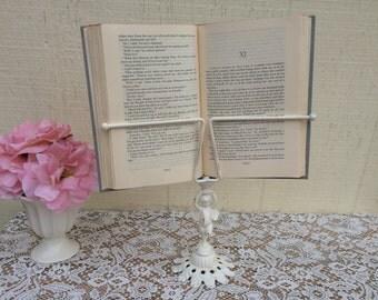 Vintage angel cherub book display book holder