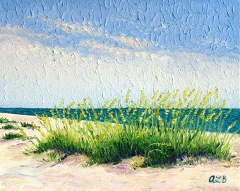 Giclee print, Beach Grass, 8 x 10 in.