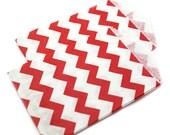 RED chevron favor bags - 20 mini 2.75 x 4 chevron party favor bags - mini chevron gift bags, wedding favor bags, party favor bags