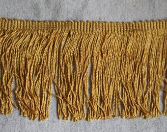 Antique GOLD chainette fringe